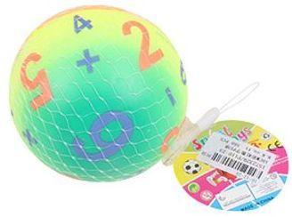 Мяч-попрыгун Наша Игрушка Мяч Арифметика пластик от 3 лет зеленый P110-23 цена
