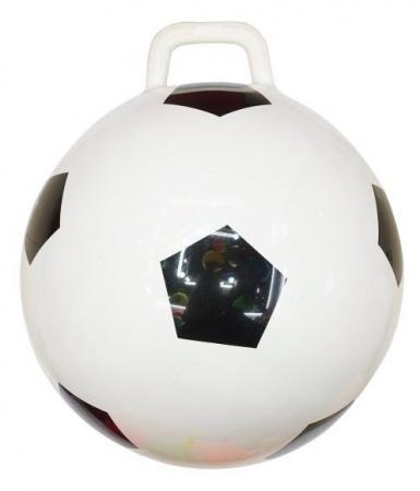 Мяч-попрыгун Наша Игрушка Футбол пластик от 3 лет белый 635016 игрушка