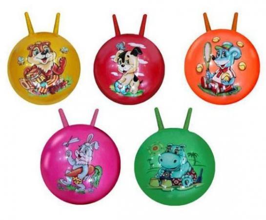 Мяч-попрыгун Наша Игрушка Мяч латексный 45см латекс от 3 лет разноцветный мяч попрыгун наша игрушка мяч латексный 55см разноцветный от 3 лет латекс