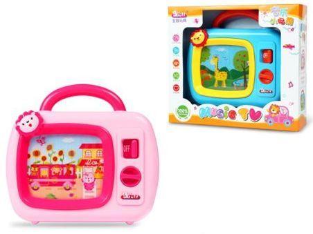 Интерактивная игрушка Наша Игрушка Музыкальный телевизор от 3 лет в ассортименте 1501