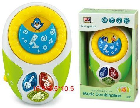 Музыкальная игрушка, свет, звук, батар.в компл.не вх., кор. игрушка