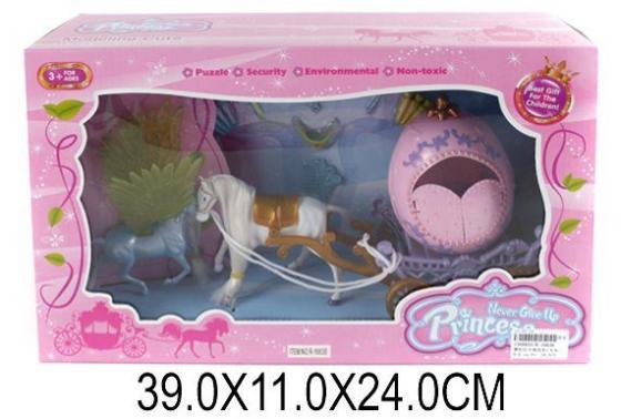Карета с лошадью Наша Игрушка Карета для принцессы R-1683B игрушка