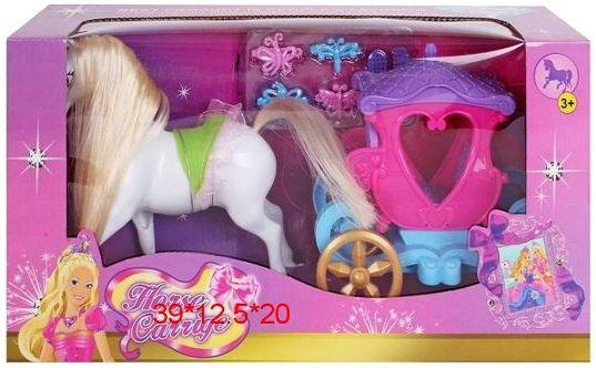 Карета с лошадью Наша Игрушка Карета с лошадью 8610 am 1480фигурка карета латунь янтарь