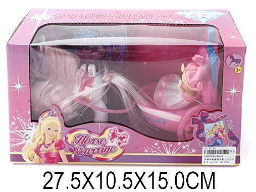 Карета с лошадью Наша Игрушка Маленькая принцесса 8619 маленькая колдунья 2018 02 25t12 00