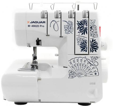 Оверлок Jaguar M-4982D Pro белый excellence m edt spr jaguar