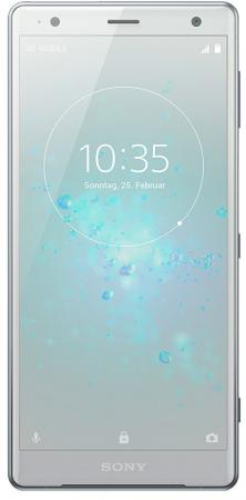 Смартфон SONY Xperia XZ2 Dual серебристый 5.7 64 Гб NFC LTE Wi-Fi GPS 3G H8266 смартфон lg q6 синий 5 5 64 гб nfc lte wi fi gps 3g lgh870ds acisun