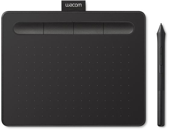 Графический планшет Wacom Intuos S черный CTL-4100K-N планшет
