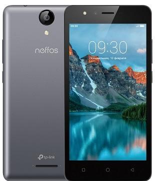 Смартфон Neffos C5A серый 5 8 Гб Wi-Fi GPS 3G TP703A21RU glare free screen protector with cleaning cloth for iphone 3g