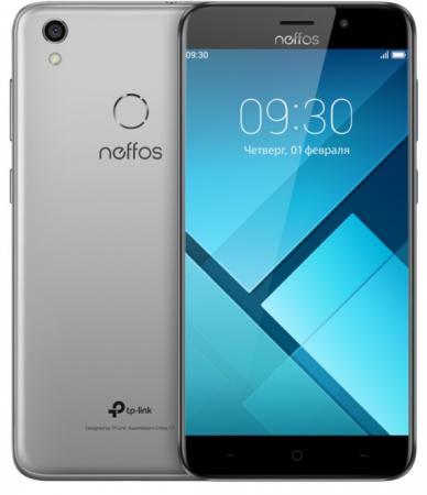 Смартфон Neffos C7 серый 5.5 16 Гб Wi-Fi GPS 3G LTE TP910A24RU смартфон fly fs522 cirrus 14 синий 5 16 гб lte wi fi gps 3g midnight blue