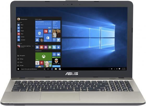 "цена Ноутбук ASUS VivoBook Max X541NA-GQ208T 15.6"" 1366x768 Intel Celeron-N3350 500 Gb 2Gb Intel HD Graphics 500 черный Windows 10 Home 90NB0E81-M03070"