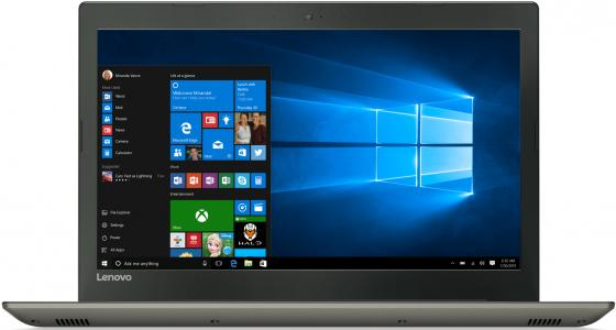 Ноутбук Lenovo IdeaPad 520-15IKB 15.6 1920x1080 Intel Core i3-7100U 500 Gb 4Gb nVidia GeForce GT 940MX 2048 Мб серый Windows 10 Home 80YL00GURK ноутбук lenovo ideapad 310 15isk 15 6 intel core i3 6006u 2ггц 6гб 1000гб nvidia geforce 920m 2048 мб windows 10 белый [80sm01rmrk]