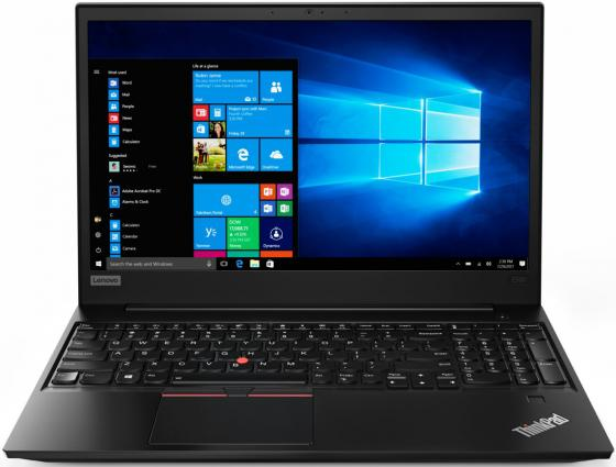 Ноутбук Lenovo ThinkPad E580 15.6 1920x1080 Intel Core i5-8250U 1 Tb 8Gb Intel UHD Graphics 620 черный Windows 10 Professional 20KS004GRT ноутбук lenovo thinkpad edge e480 core i5 8250u 8gb ssd256gb intel hd graphics 14 ips fhd 1920x1080 windows 10 professional