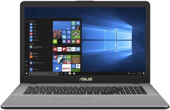 Ноутбук ASUS VivoBook Pro N705UD-GC206 17.3 1920x1080 Intel Core i7-8550U 1 Tb 8Gb nVidia GeForce GTX 1050 2048 Мб серый Linux 90NB0GA1-M03190 original laptop motherboard for asus x750jn rev2 1 system board with i7 4700cpu onboard ddr3 100