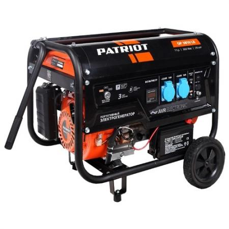 Генератор бензиновый PATRIOT GP 6510LE цены