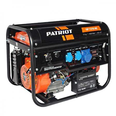 цена Генератор бензиновый PATRIOT GP 7210AE