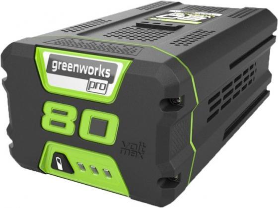Литий-ионная аккумуляторная батарея 80V Digi-Pro Greenworks G80B4 аккумуляторная цепная пила greenworks 80v digi pro gdcs50 без аккумулятора и зарядного устройства