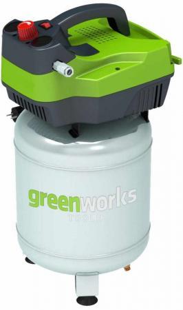Компрессор Greenworks GAC24V 1,5кВт компрессор greenworks 230v gwactl 4101607