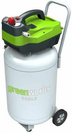 Компрессор Greenworks GAC50V 1,5кВт компрессор greenworks 230v gwactl 4101607