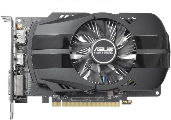 Видеокарта 4096Mb ASUS RX 550 PCI-E DVI HDMI DP PH-RX550-4G-M7 Retail