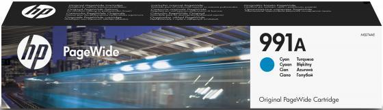 Картридж HP № 991A M0J74AE для HP PageWide Pro 755 772 777 голубой картридж hp cz134a
