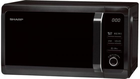 Микроволновая печь Sharp R6852RK 800 Вт чёрный микроволновая печь midea mm820cj7 b3 800 вт чёрный