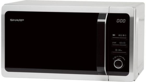 Микроволновая печь Sharp R2852RSL 800 Вт серебристый