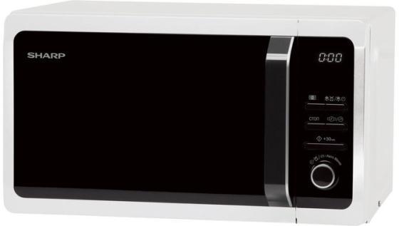 Микроволновая печь Sharp R2852RW 800 Вт белый микроволновая печь соло sharp r2852rw