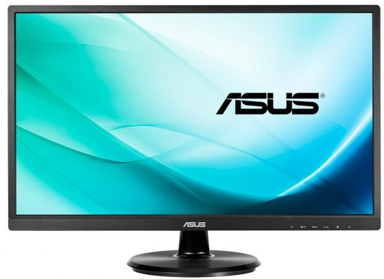 Монитор 23.8 ASUS VA249NA черный VA 1920x1080 250 cd/m^2 5 ms DVI VGA 90LM02W1-B01370 21 5 asus vs229ha va 1920x1080 250 cd m^2 5 ms dvi hdmi vga 90lme9001q02231c