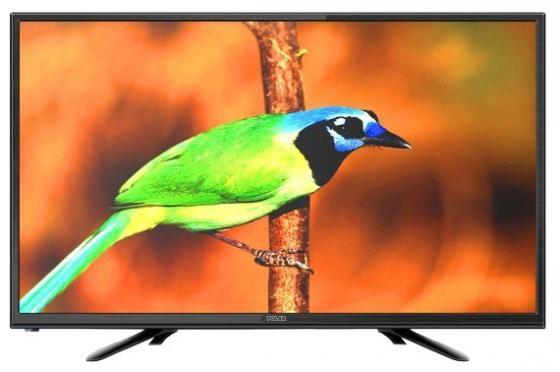 """Телевизор LED 24"""" POLAR P24L22T2C черный 1920x1080 50 Гц VGA HDMI USB"""