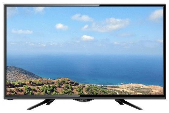 """Телевизор LED 24"""" POLAR P24L21T2C черный 1920x1080 50 Гц VGA HDMI USB SCART"""