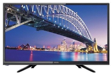 """Телевизор LED 22"""" POLAR 55LTV7011 черный 1920x1080 VGA HDMI USB цена 2017"""