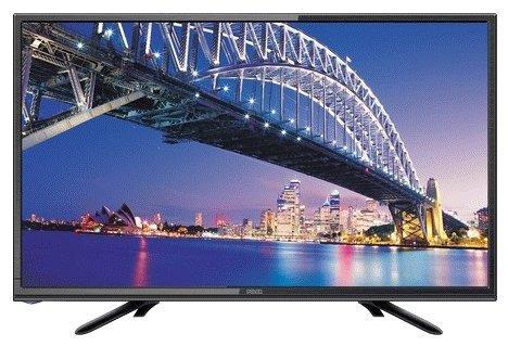 Телевизор LED 19 POLAR 48LTV7011 черный 1366x768 50 Гц VGA HDMI USB телевизор 28 samsung lt28e310ex hd 1366x768 vga usb hdmi черный