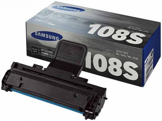 Картридж Samsung SU785A MLT-D108S для ML-1640/1641/2240/2241 черный 1500стр картридж easyprint ls 108 для samsung ml 1640 1641 1645 2240 2241 чёрный 1500 страниц с чипом mlt d108s
