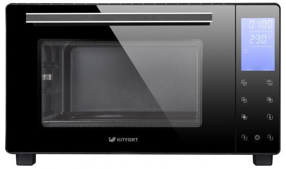 Мини-печь KITFORT KT-1706 чёрный мини печь kitfort kt 1705