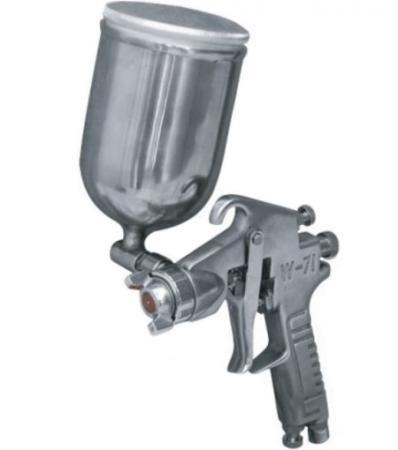 Краскораспылитель КРАТОН HP-01G верхн. бак 0.4л сопло 1.5мм 120-170л/мин 1кг