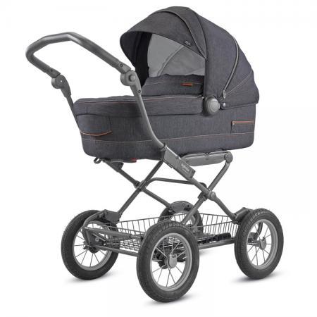 Коляска для новорожденного Inglesina Sofia на шасси Ergo Bike (AB15K6VLD + AE15H6100/ цвет village denim)