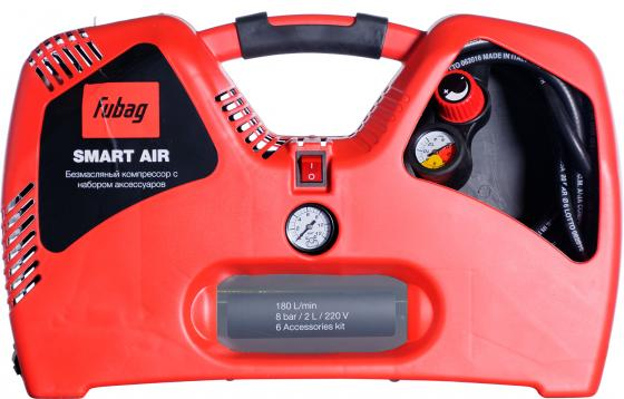 Компрессор Fubag Smart Air 1,1кВт гвоздескобозабивной пистолет fubag sn4050