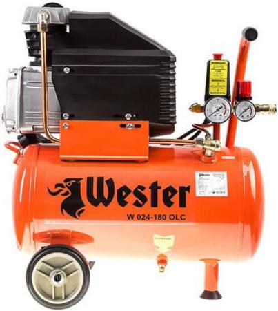 Компрессор Wester W 024-180 OLC 1,8кВт поршневой масляный компрессор wester le 024 150 olc