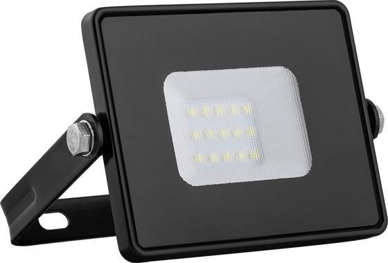 Прожектор светодиодный FERON 29490 2835 SMD 10W 4000K IP65, черный с матовым стеклом, LL-918 прожектор светодиодный feron 32104 2835 smd 150w 6400k ip65 черный с матовым стеклом ll 923