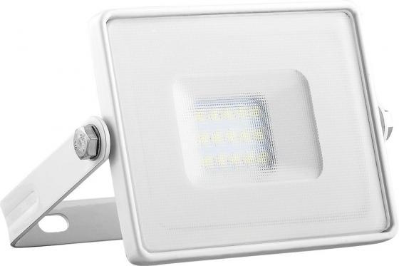 Прожектор светодиодный FERON 29491 2835 SMD 10W 6400K IP65, белый с матовым стеклом, LL-918 feron прожектор светодиодный feron ll 919 20w 1900lm 6400k ip65 29492
