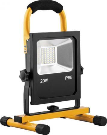 Прожектор светодиодный FERON 32088 переносной 20W, 6400K, 40*SMD5730, IP65, LL-912 feron прожектор светодиодный feron ll 919 20w 1900lm 6400k ip65 29492