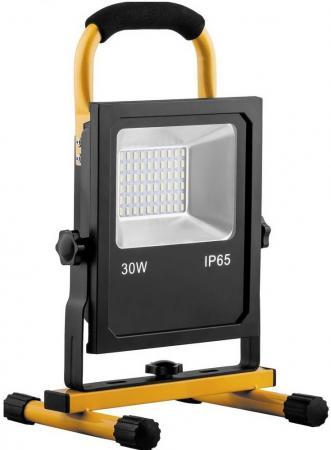 Прожектор светодиодный FERON 32089 переносной 30W, 6400K, 60*SMD5730, IP65, LL-913 feron прожектор светодиодный feron ll 919 20w 1900lm 6400k ip65 29492