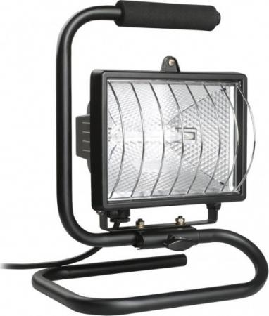 Прожектор ИЭК ИО -500П переноска, с лампой в комплекте, черный, IP54 краскораспылитель elitech кэ 500п