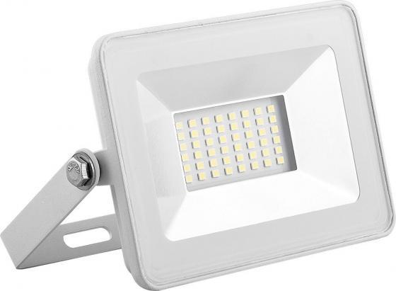 цена на Прожектор светодиодный SAFFIT 55072 2835SMD, 30W 6400K IP65, белый в компактном корпусе, SFL90-30