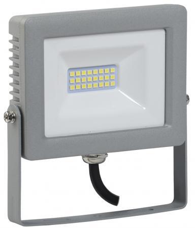 Прожектор светодиодный IEK СДО 07-20 20Вт 220В IP65 серый iek lpdo702 20 k03 прожектор сдо 07 20д светодиодный серый с дд ip44 iek