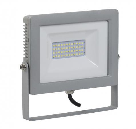 Прожектор светодиодный IEK СДО 07-50 50Вт 220В IP65 серый iek lpdo702 20 k03 прожектор сдо 07 20д светодиодный серый с дд ip44 iek