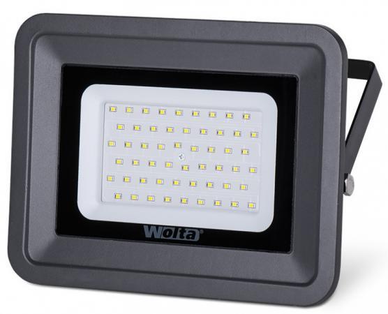 Светодиодный прожектор WOLTA WFL-30W/06  5500K, 30 W SMD, IP 65,цвет серый,слим