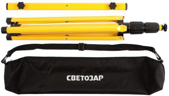 Штатив СВЕТОЗАР 56922-B переносной для 2-х прожекторов 1.6м сумка крепление для прожекторов tripod hrz00002332
