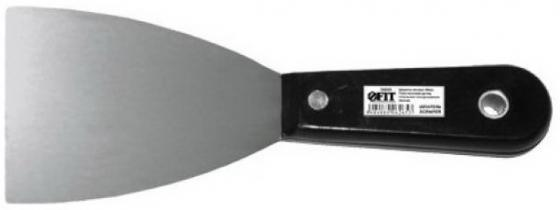 Шпатель FIT 06290 полированный с пластиковой ручкой 100мм шпатель fit 07554 с изогнутой пластиковой ручкой антикоррозионное покрытие 200мм