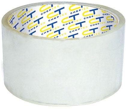 Клейкая лента Сибртех 88845 48мм x 25 м клейкая лента brauberg 440089 48мм x 200 м прозрачная 45 мкм